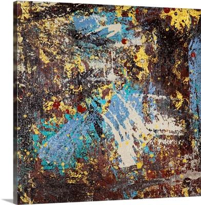 Rustic Industrial 7, Canvas V
