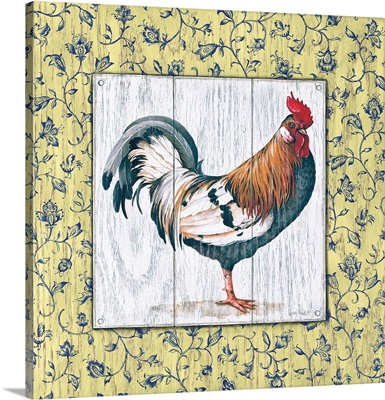 Rustic Rooster I