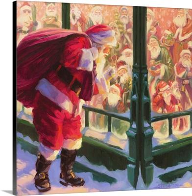Santa An Unforeseen Encounter