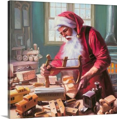 Santa In The Workshop