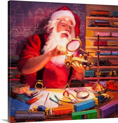 Santa the Train Master