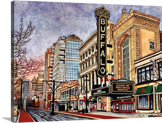 Shea\'s Buffalo, Buffalo NY Wall Art, Canvas Prints, Framed Prints ...