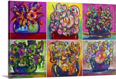 Six Flowers II