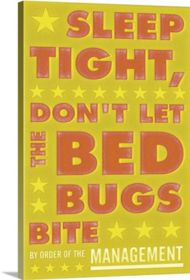 Sleep Tight, Don't Let the Bed Bugs Bite, Orange