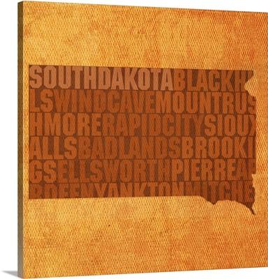 South Dakota State Words