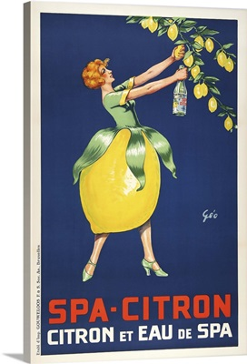 Spa Citron - Vintage Advertisement