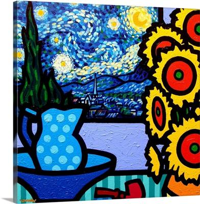 Still Life With Starry Night