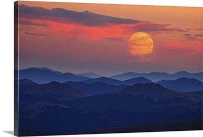 Supermoon at Sunrise