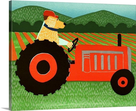 The Tractor Wall Art, Canvas Prints, Framed Prints, Wall Peels ...
