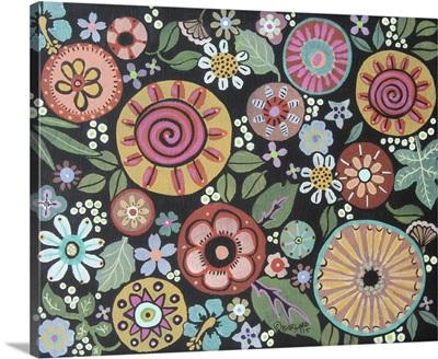 Vintage Style Floral I