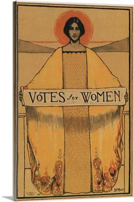 Votes for Women - Vintage Suffrage Poster