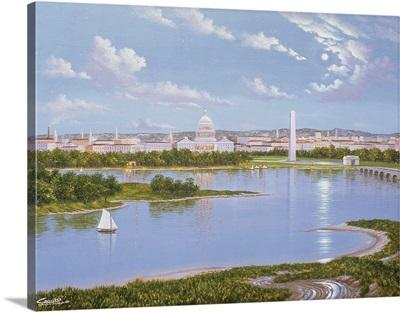 Washington DC In 1885