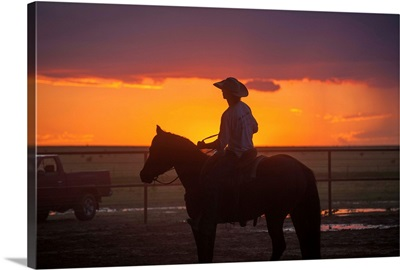 Working Sunset