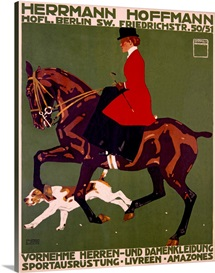 Herrmann Hoffmann, Vintage Poster, by Ludwif Hohlwein