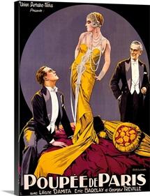 Poupee de Paris, Union Artistic Films, Vintage Poster, by Elisabeth