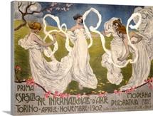 Prima Esposizione Internazionale dArte Decorativa Moderna, Vintage Poster