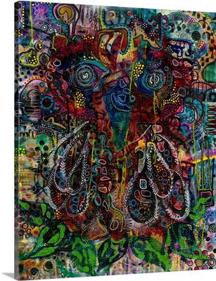 Abstract Owl No/2