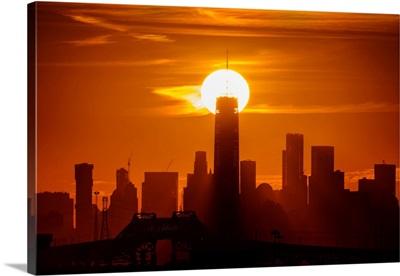Freedom Tower At Sunrise