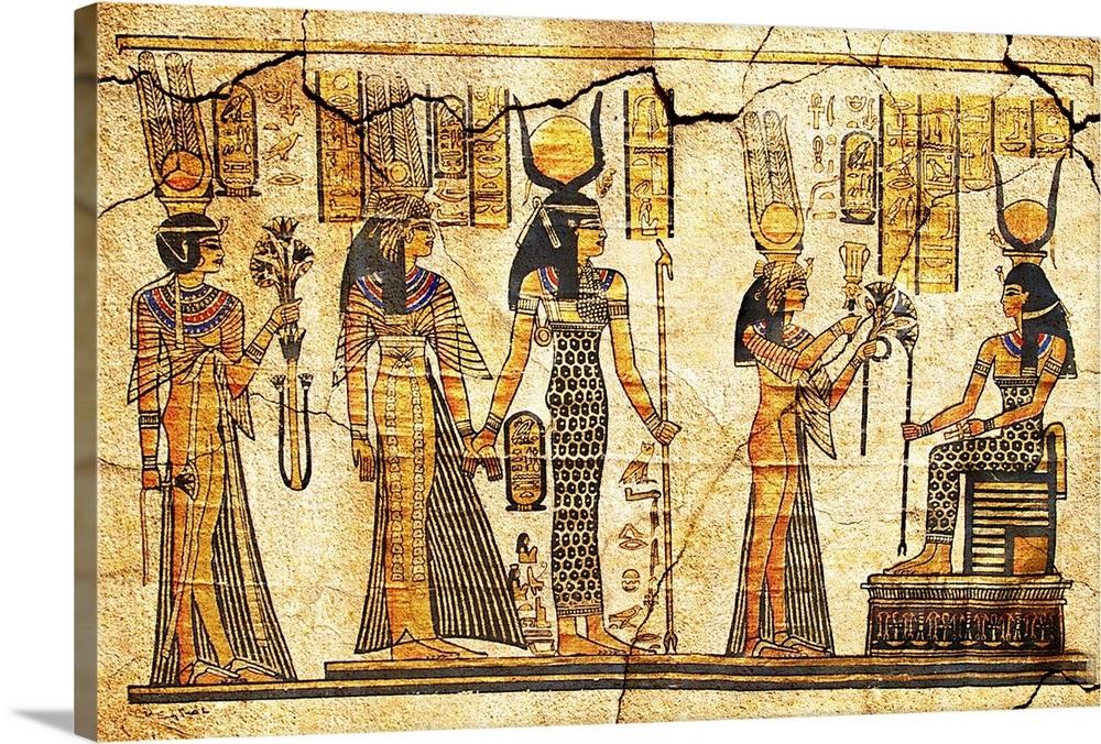 Ancient Egyptian Art Wall Art, Canvas Prints, Framed ...