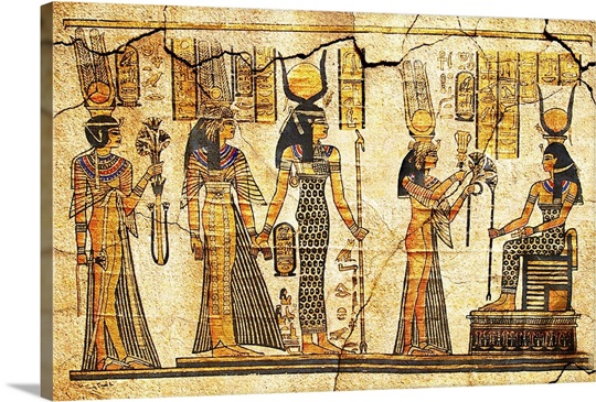 Ancient Egyptian Art Wall Art, Canvas Prints, Framed Prints, Wall ...