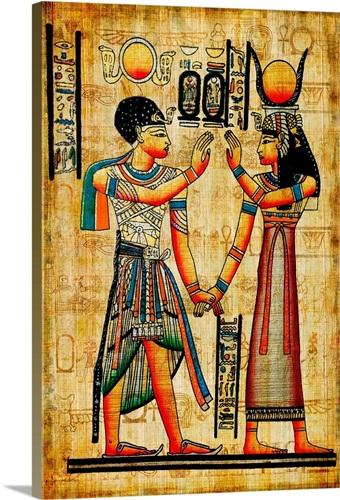 Ancient Egyptian Art Wall Art, Canvas Prints, Framed Prints, Wall ...