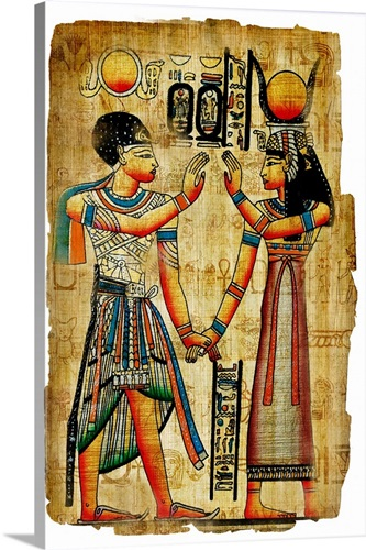 Ancient Egyptian Artwork Wall Art, Canvas Prints, Framed Prints ...