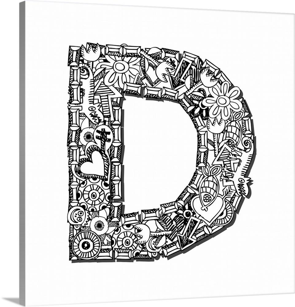 doodle letter - Mersn.proforum.co
