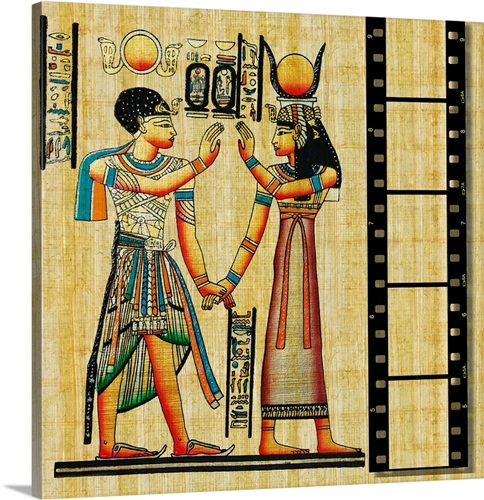 Egyptian Art with Film Strip Wall Art, Canvas Prints, Framed Prints ...