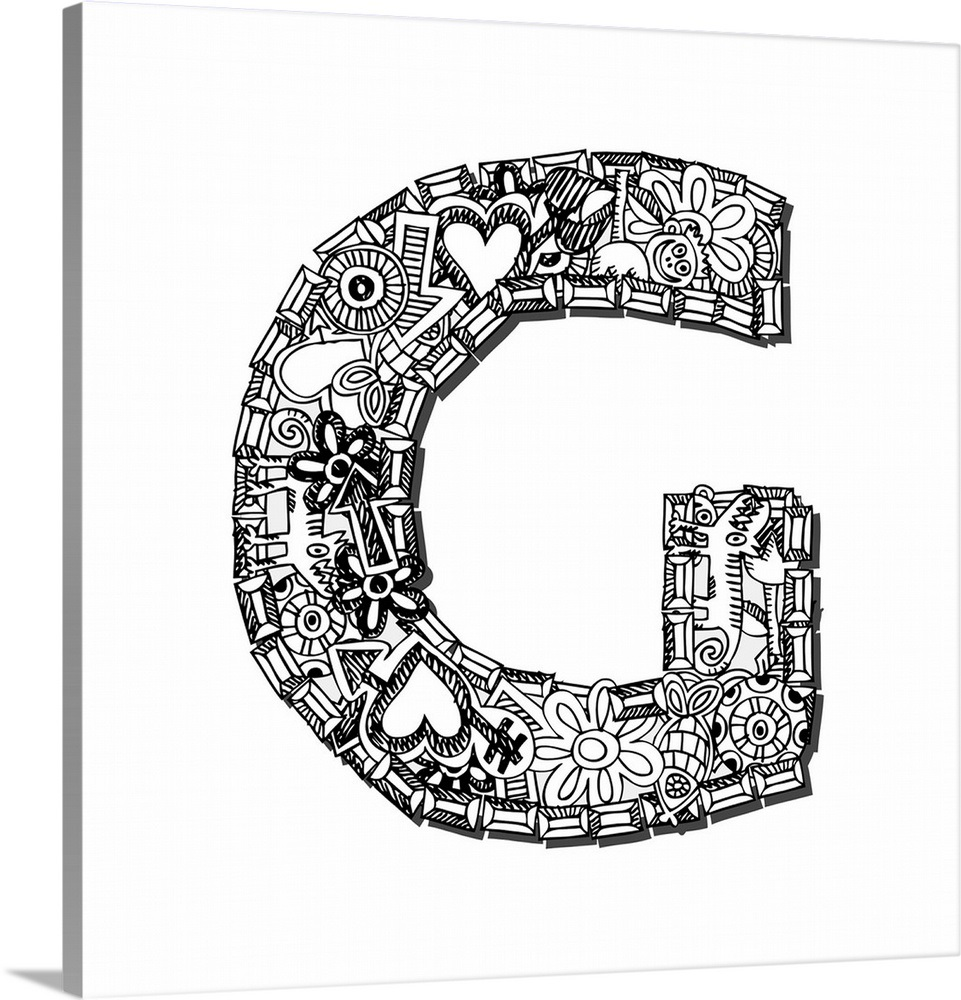How To Doodle Letters