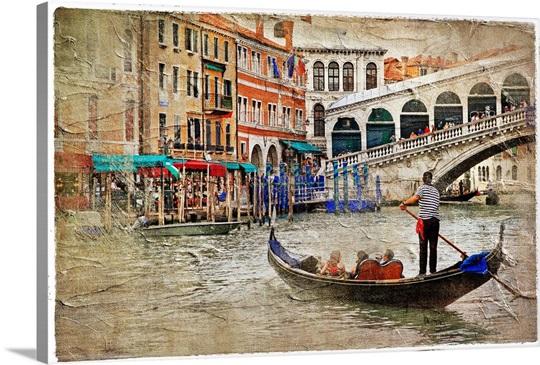 Gondola in Venice Wall Art, Canvas Prints, Framed Prints, Wall Peels ...