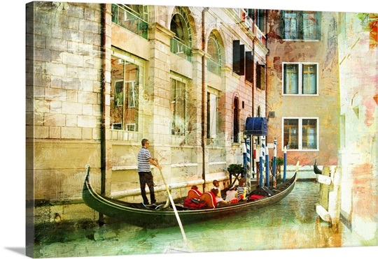 Romantic Venice Wall Art, Canvas Prints, Framed Prints, Wall Peels ...