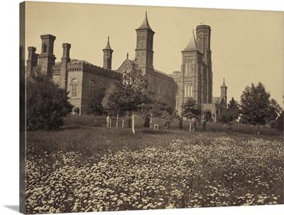 Vintage photograph of Smithsonian Institution, Washington, DC