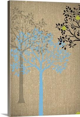 Burlap Trees VII