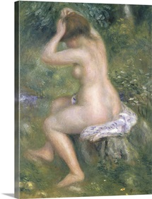 A Bather, c.1885 90 (oil on canvas)