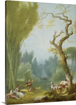 A Game of Horse and Rider, c. 1775-80