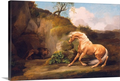 A Horse Frightened by a Lion, c.1790-5