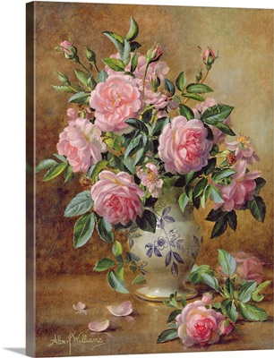 A Medley of Pink Roses
