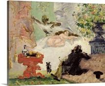 A Modern Olympia, 1873 74 (oil on canvas)