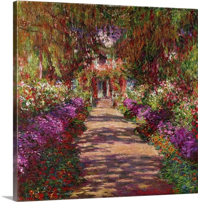 A Pathway in Monets Garden, Giverny, 1902