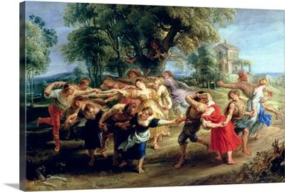 A Peasant Dance, 1636 40