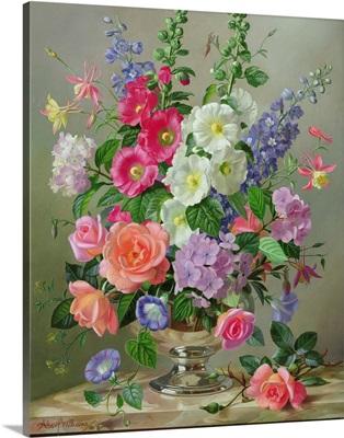 A September Floral Arrangement
