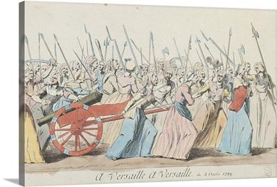 A Versailles, A Versailles, March of the Women on Versailles, Paris, 5th October 1789