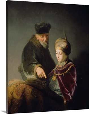 A Young Scholar and his Tutor, c. 1629-30