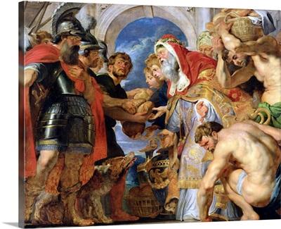 Abraham and Melchizedek, 1615 18