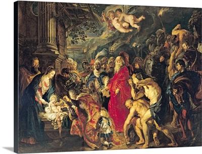 Adoration of the Magi, 1610