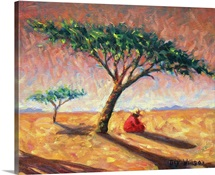 African Afternoon, 2003 (oil on canvas)