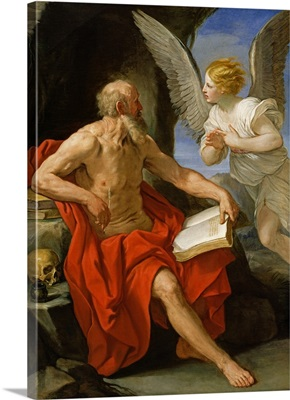 Angel Appearing to St. Jerome, c.1640