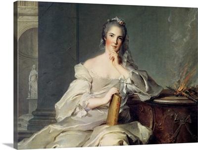Anne-Henriette de France, as the element of Fire, 1750-1