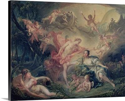 Apollo Revealing his Divinity to the Shepherdess Isse, 1750