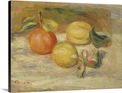 Apples And Two Lemons